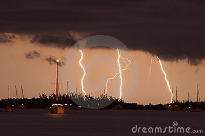 Lighting in keys west