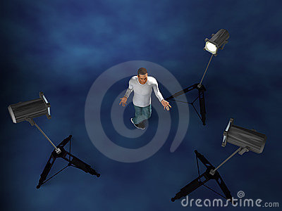 Lighting setup studio