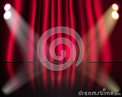 Lighting stage