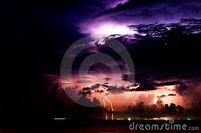Lighting Storm