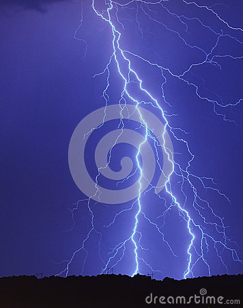Lighting strike
