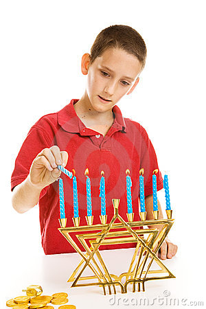 Free Lighting The Menorah Stock Photos - 7138663