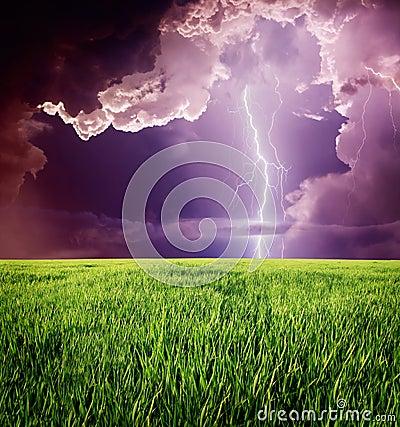 Free Lightning Royalty Free Stock Image - 89369726