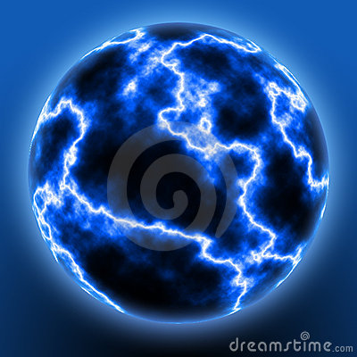 Free Lightning Ball Royalty Free Stock Photo - 113645