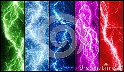Lightning banners