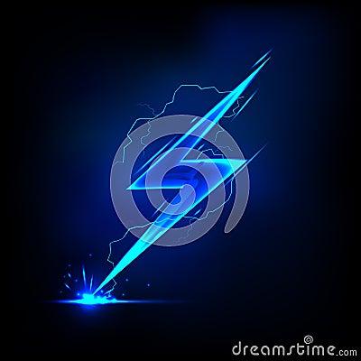 Free Lightning Bolt Royalty Free Stock Photo - 25648715