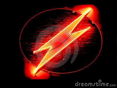 how to draw a cool lightning bolt