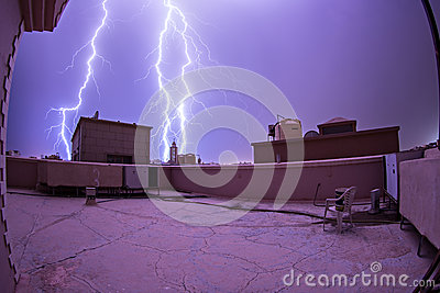 Lightning bolts