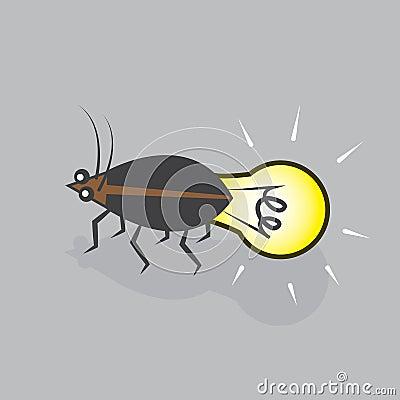 Lightning Bug Bulb