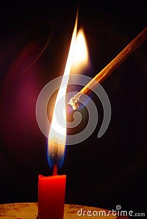 Lightning Candle