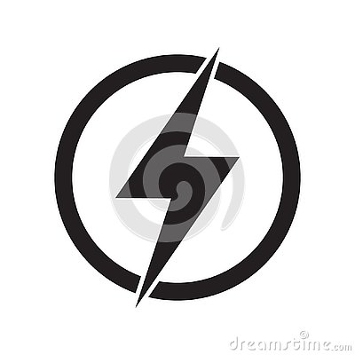 Free Lightning, Electric Power Vector Logo Design Element. Energy And Thunder Electricity Symbol Concept. Lightning Bolt Sign Stock Images - 139118184