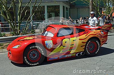 Lightning McQueen Editorial Photography