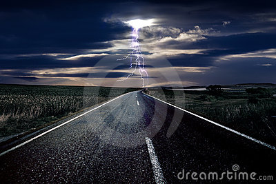 Lightning and The Road