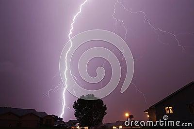 Lightning Stirke Cloud