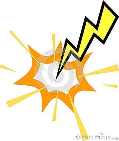 Free Lightning Striking Stock Images - 668824