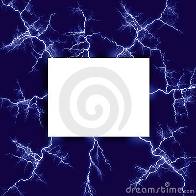 Lightning surrounded note