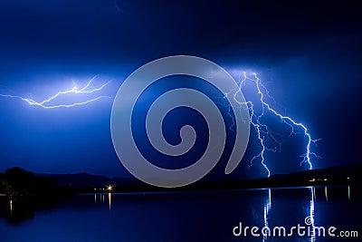 Lightning ThunderStorm Into The Night