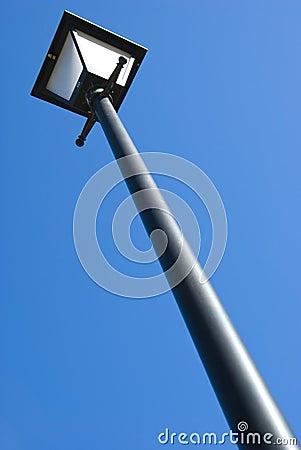 Lightpole on The blue Sky