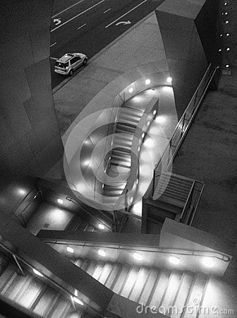 Free Lights And Stairs At Walt Disney Hall Stock Images - 118378954