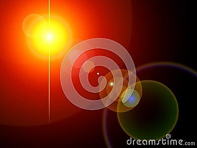Lights background set
