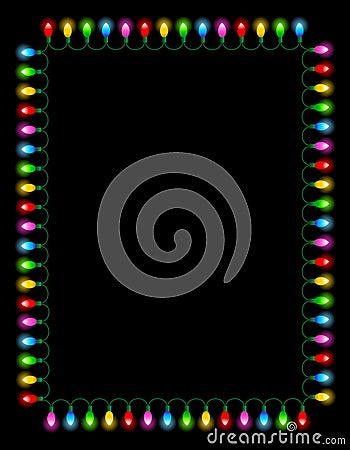 Lights / bulbs border