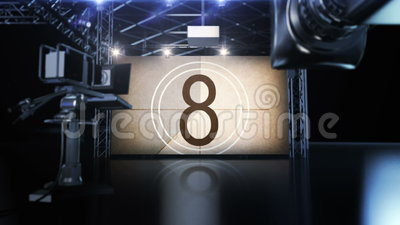 Lights, Cameras, Projectors, Spotlights, Countdown, Film, Television, Event, Cine, Hollywood, Premiere, Visual, Spotlight, Vintage. Countdown Studio with