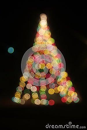 Lights of the christmas holidays