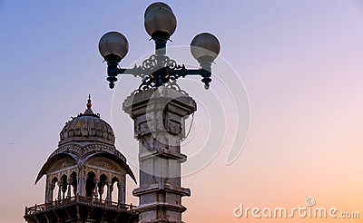 Lights and domes Albet hall jaipur