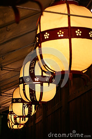 Lights in kyoto