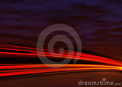 Lights night tail