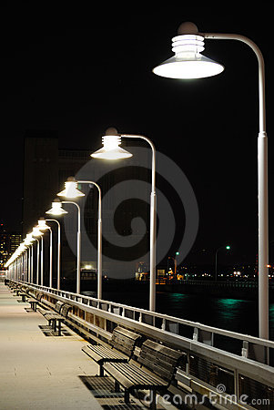 Lights on Pier