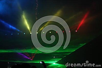 Lights show