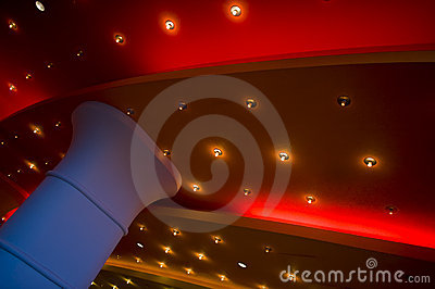 Lights on a Theater Ceiling