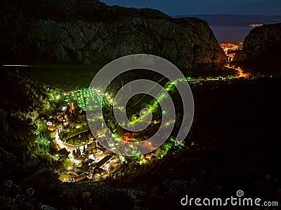 Lights at village