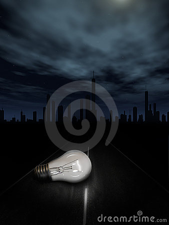 Free Ligt Bulb Concept Stock Photos - 6895533