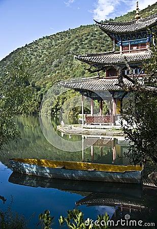 Free Lijiang Black Dragon Pool Royalty Free Stock Photography - 11179647