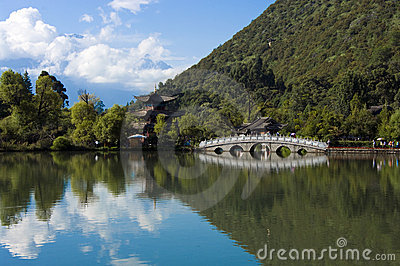 Lijiang black dragon pool