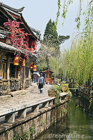 Lijiang Old Town Editorial Stock Image