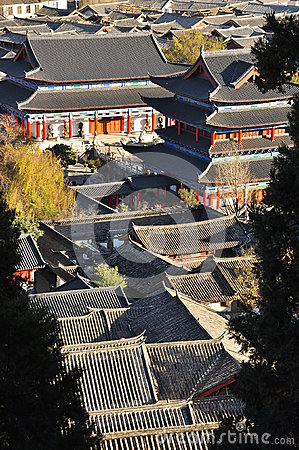 Lijiang old town. Yunnan, China