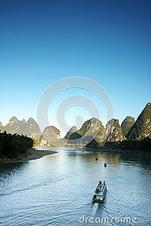 Free Lijiang River Yangshuo China Royalty Free Stock Photos - 17562728