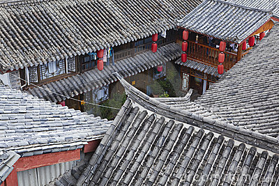 Lijiang: traditional chinese houses