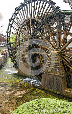 Lijiang Water Wheels
