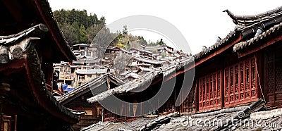 Lijiang in yunnan province