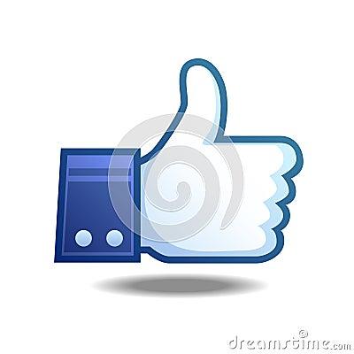 Free Like Icon Royalty Free Stock Photos - 38214608