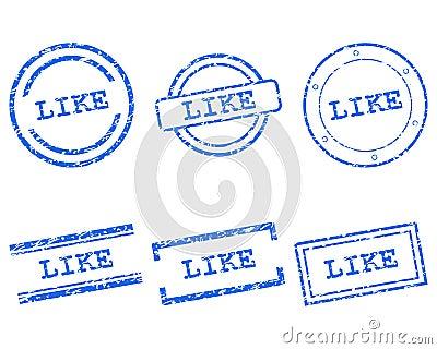Like stamps