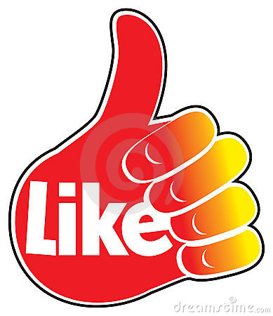 Like thumbs up graphic