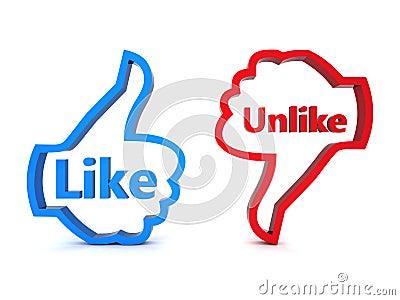 Like and Unlike