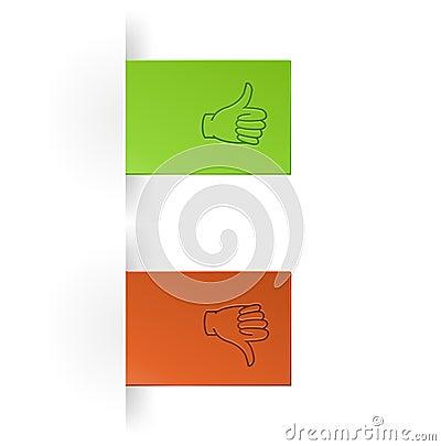 Like and unlike icon