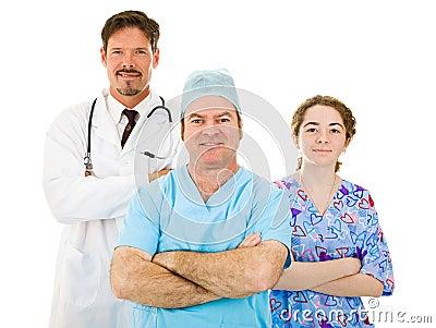 Likeable Hospital Medical Staff