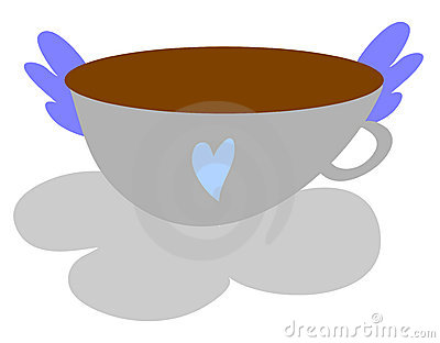 Lil cup of heaven blue